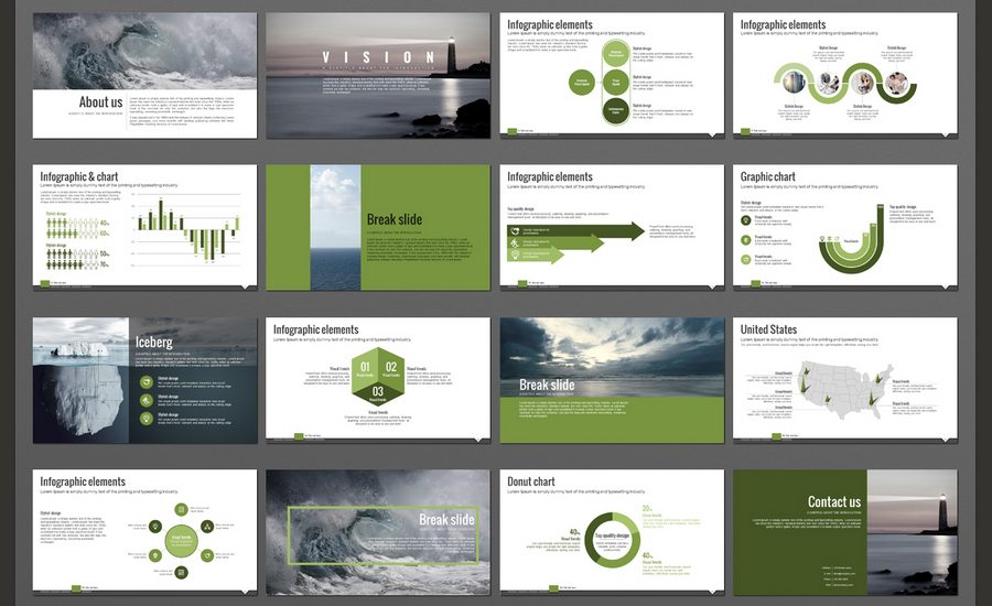 60+ beautiful, premium powerpoint presentation templates, Powerpoint templates