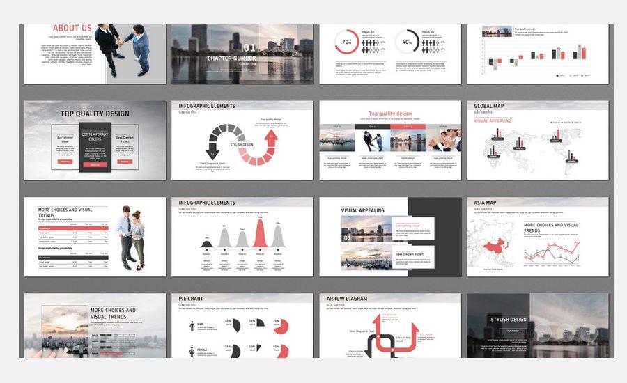 60+ Beautiful, Premium PowerPoint Presentation Templates - Weboy Design