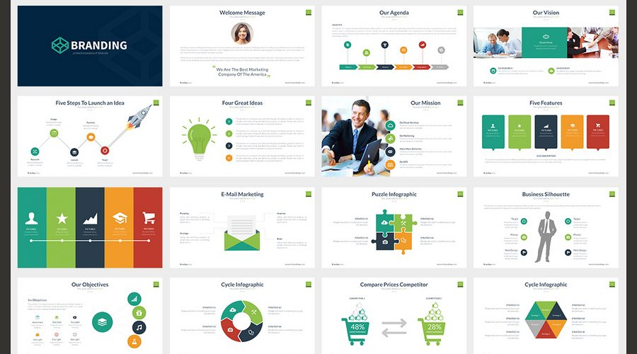 60+ Beautiful, Premium PowerPoint Presentation Templates Design Shack