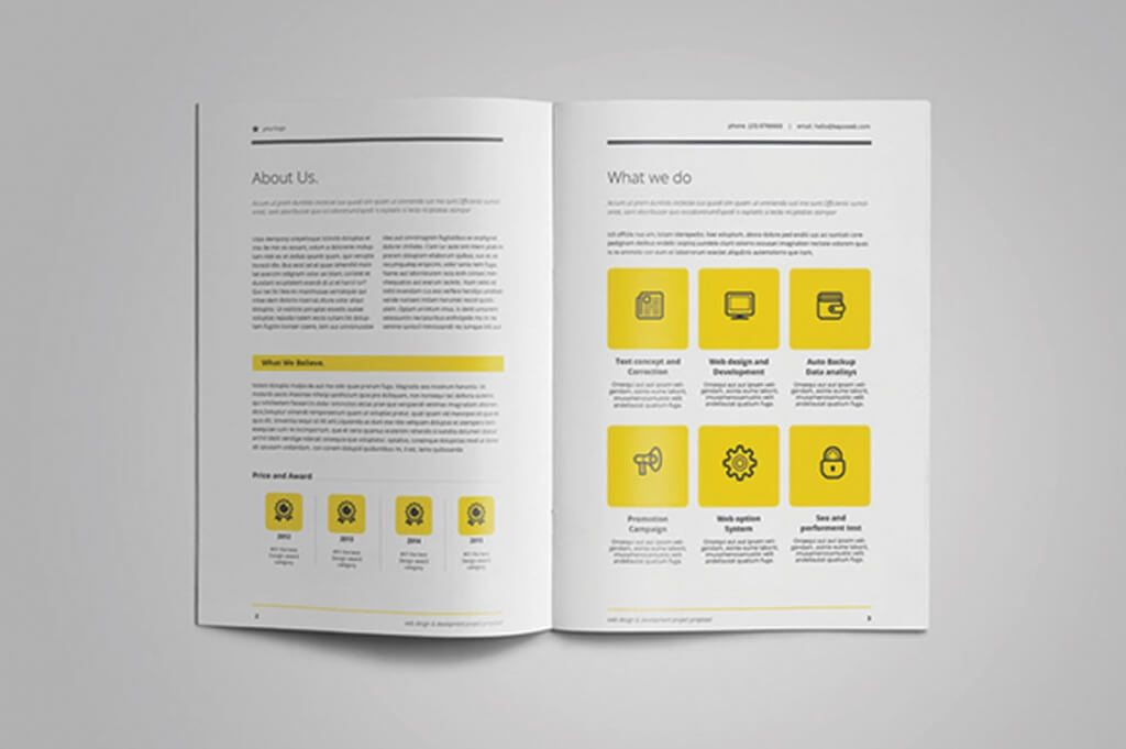 80+ Modern Stationery Templates Design Shack - professional project proposal