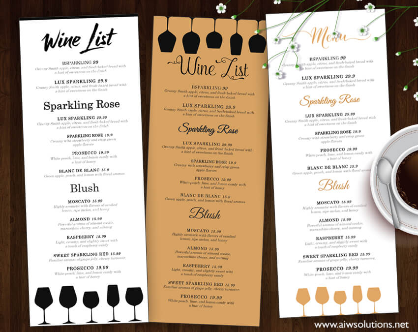 30+ Best Food  Drink Menu Templates Design Shack - how to make a restaurant menu on microsoft word