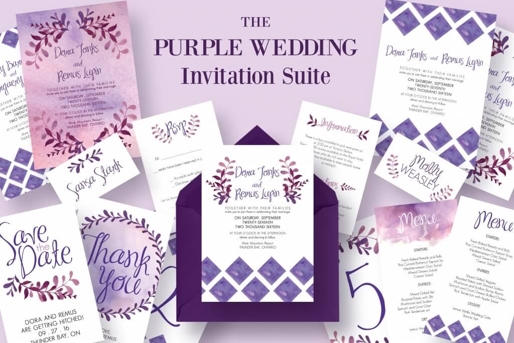 90+ Gorgeous Wedding Invitation Templates Design Shack