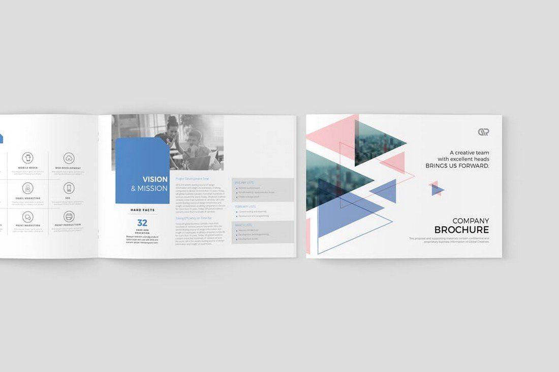 70 Modern Corporate Brochure Templates Healthcare Web Design And