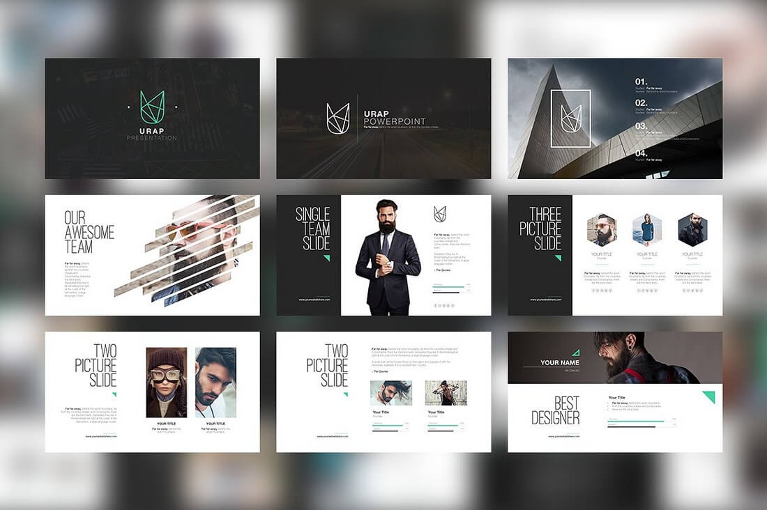 60+ Beautiful, Premium PowerPoint Presentation Templates ...