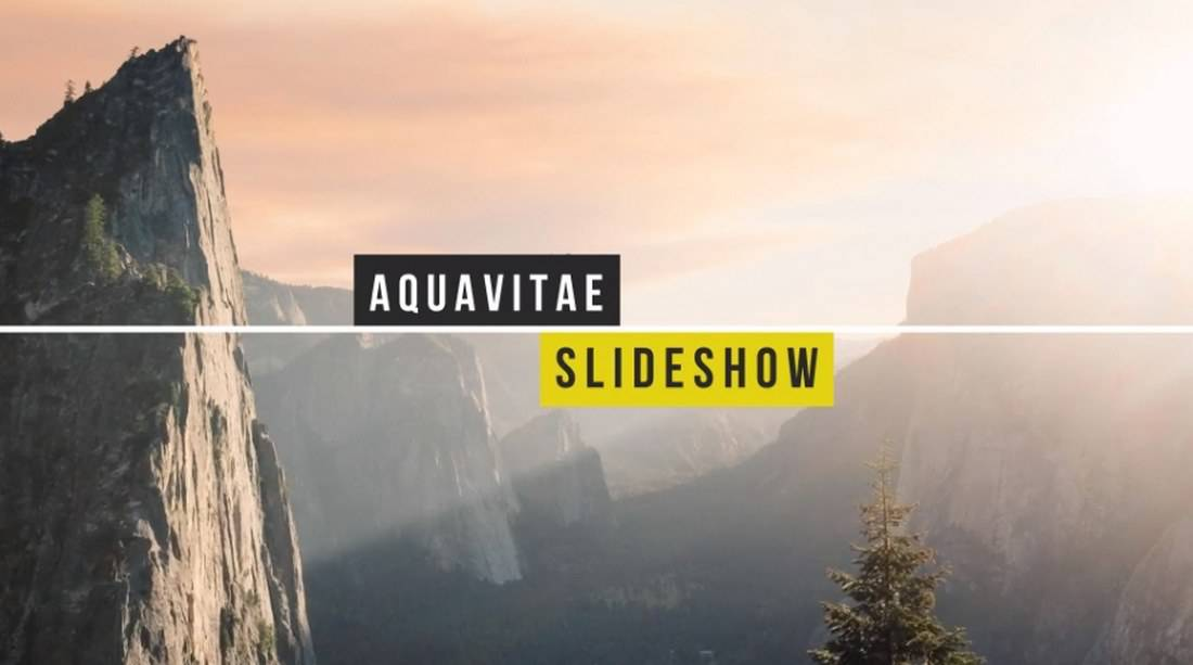 20+ Best After Effects Slideshow Templates Freedom of Creation
