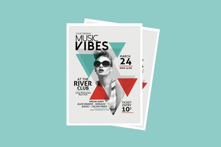 30+ Best Music  Band Flyer Templates Design Shack