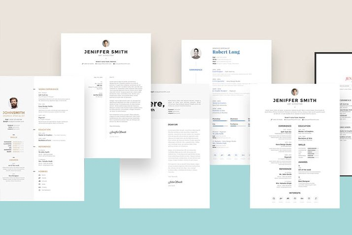 The Best CV \ Resume Templates 50 Examples Design Shack - resume templates with photo