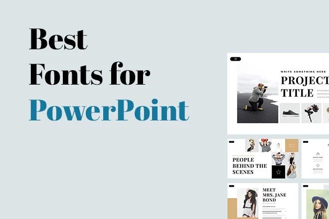 Choosing the Best Font for PowerPoint 10 Tips  Examples Design Shack