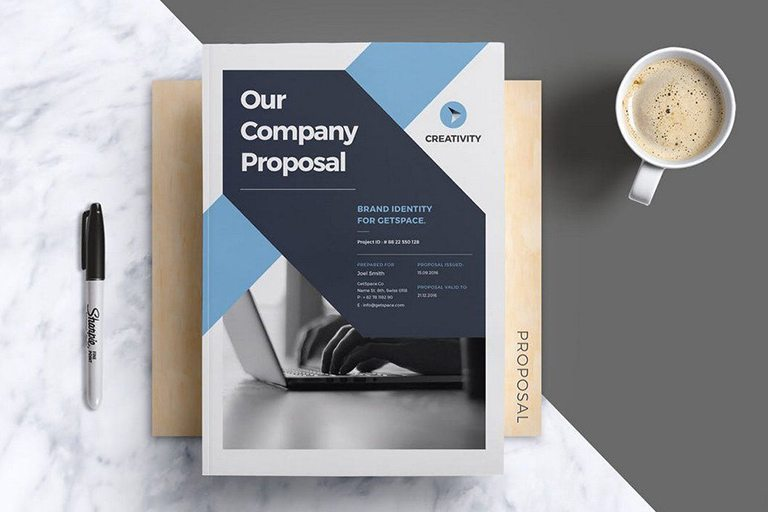 20+ Best Microsoft Word Brochure Templates Design Shack - Company Brochure Templates