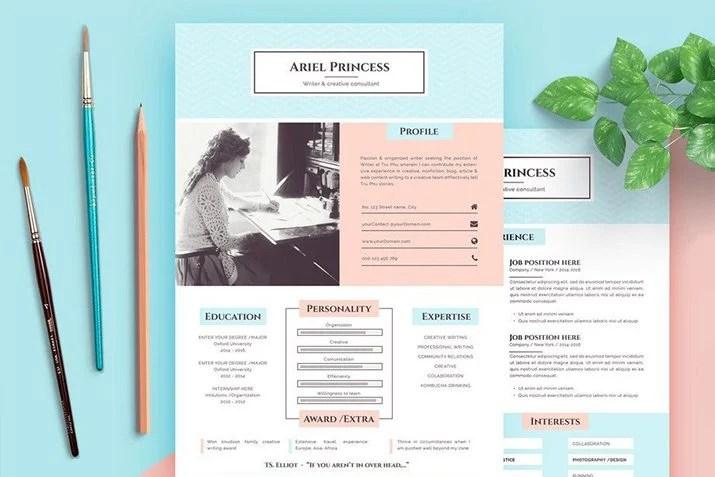 20+ Best Pages Resume  CV Templates Design Shack - resume cv templates