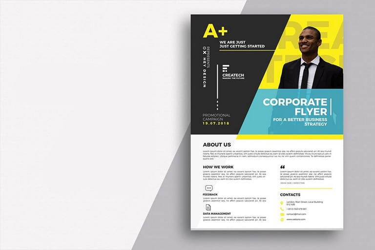 20+ Business Flyer Templates (Word  PSD) Design Shack