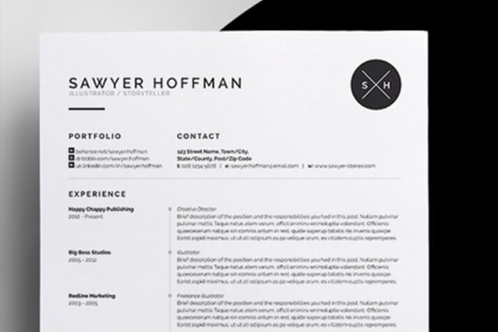 How to Customize a Resume or CV Template Design Shack