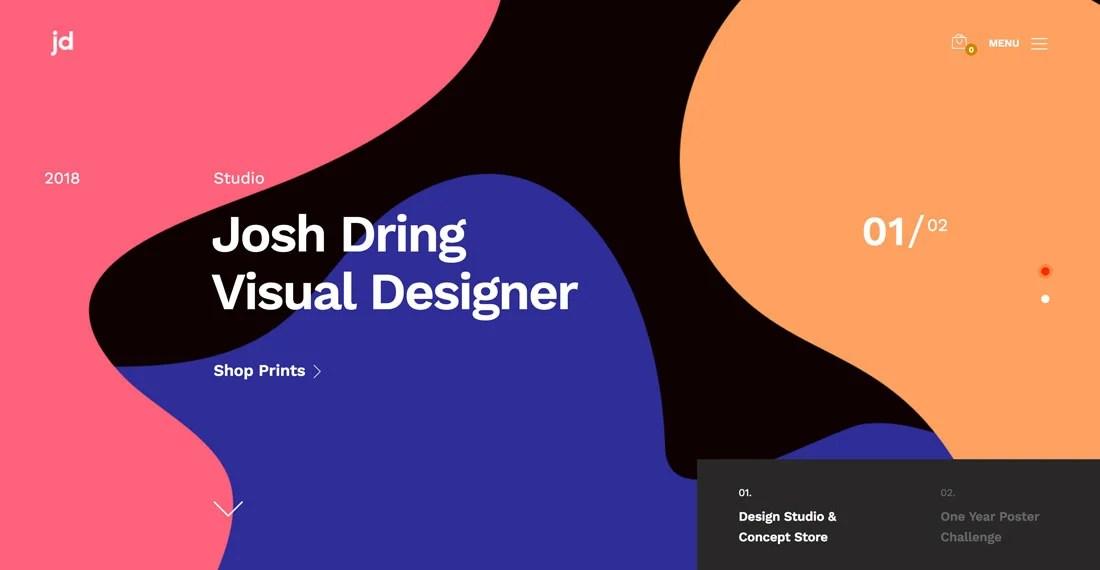 Design Trend Bubble  Blob Backgrounds Design Shack