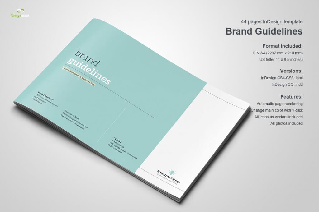70+ Modern Corporate Brochure Templates Design Shack - manual cover page template