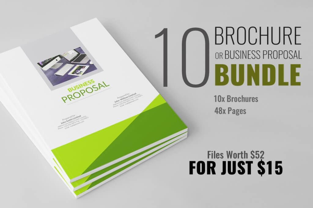 70+ Modern Corporate Brochure Templates Design Shack - modern brochure design