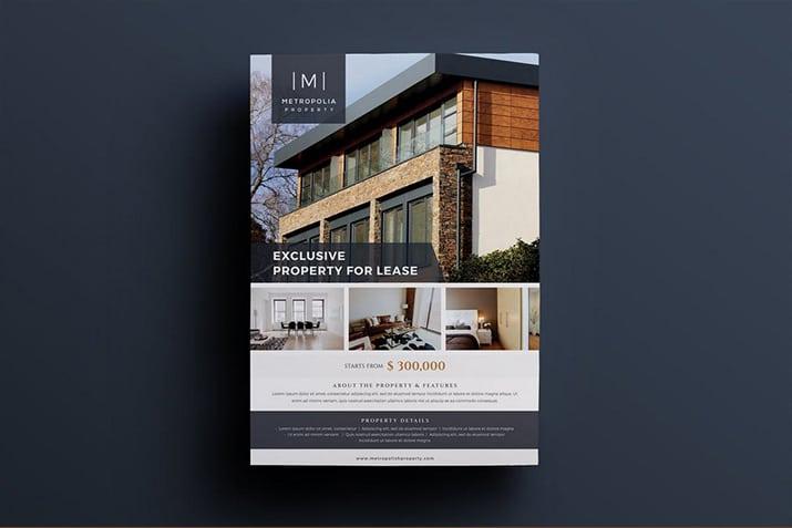 20+ Best Real Estate Flyer Templates Design Shack