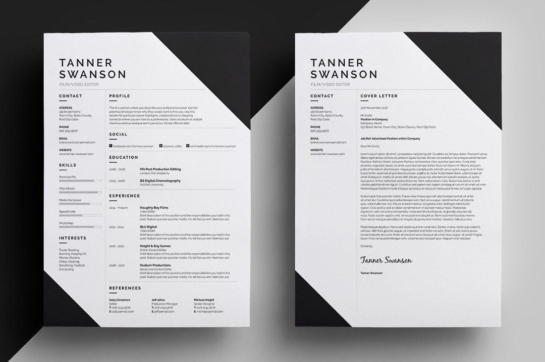 free resume background designs
