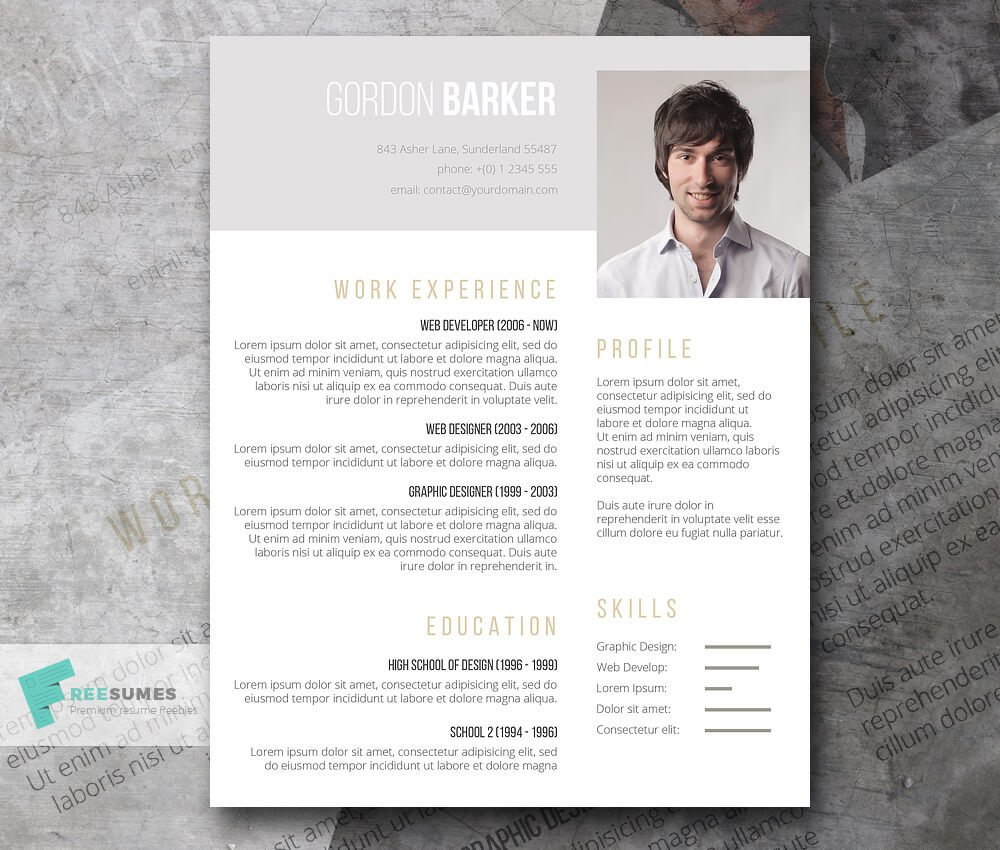 resume templates beautiful curriculum vitae resume templates beautiful 50 beautiful resume cv templates in ai indesign the best cv and