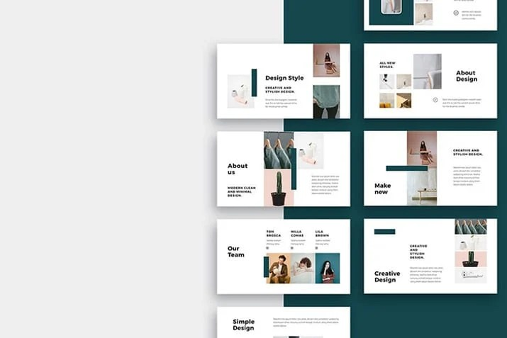 20+ Simple PowerPoint Templates (With Clutter-Free Design) Design