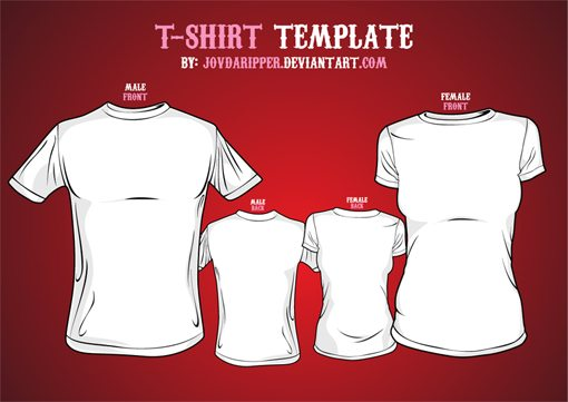 Weekly Freebies 20 Free T-Shirt Design Templates Design Shack