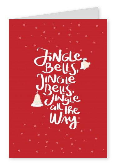 Create your own photo christmas cards online ltt red jingle bells card with bells and snow 8 create your own holiday cards online m4hsunfo