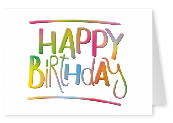 Printed Happy Birthday Cards Online Free International Shipping - birthday card layout