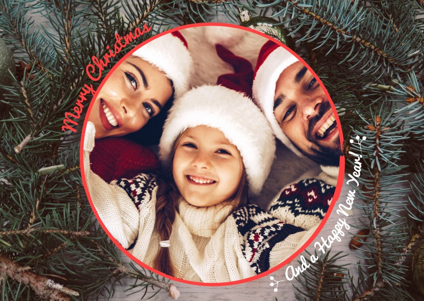 Create Your Own Photo Christmas Cards Free Printable Templates