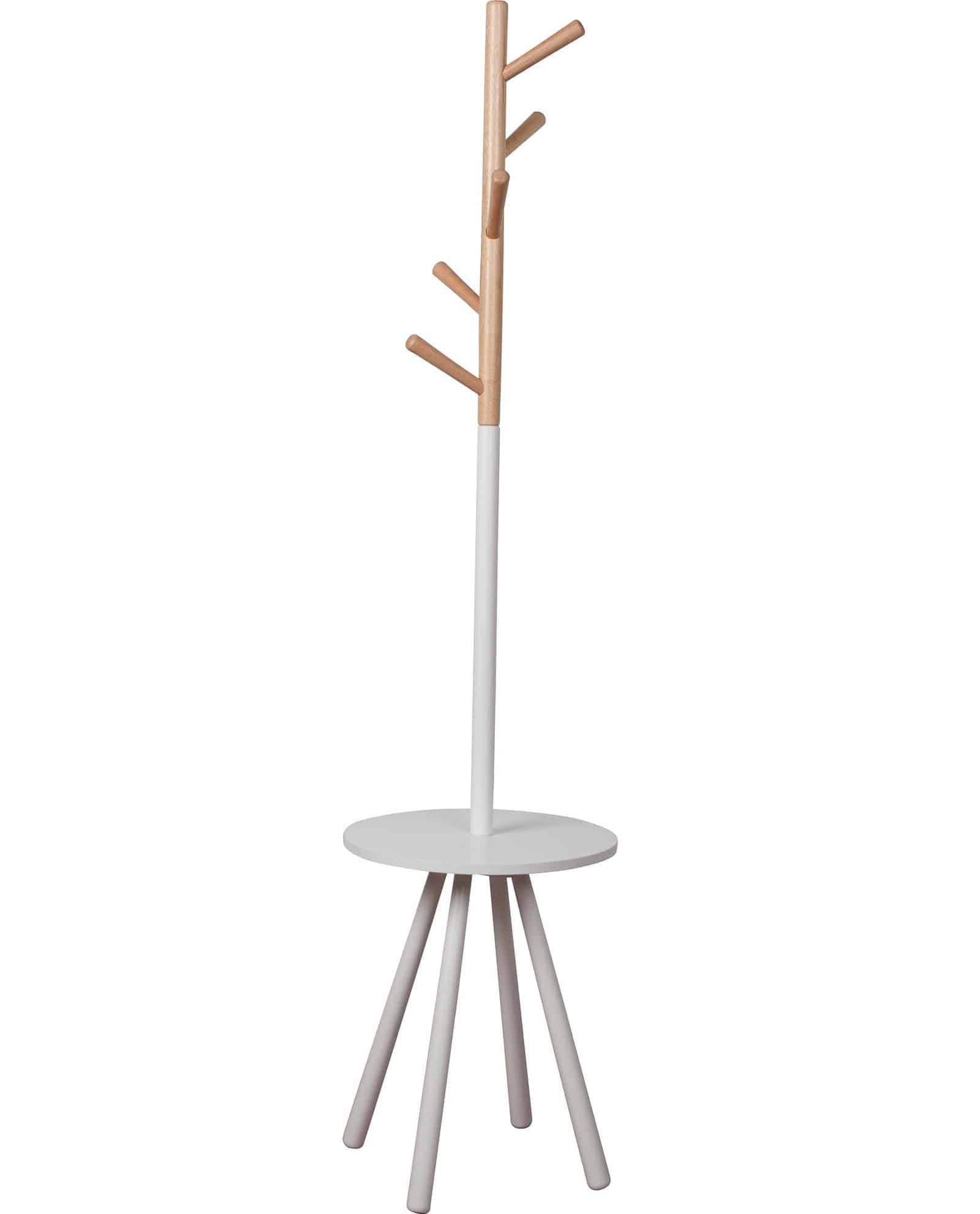 Goedkope Kapstok Table Tree Kapstok White By Zuiver Designshopp