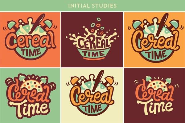 Cereal Time Logo Design