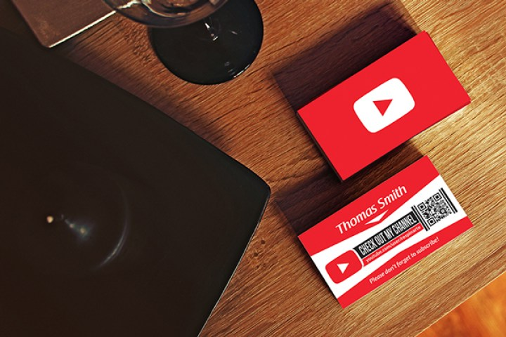 YouTube Business Card