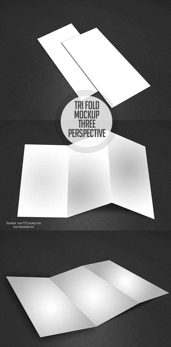 16_PSD Free Tri-Fold Mockup