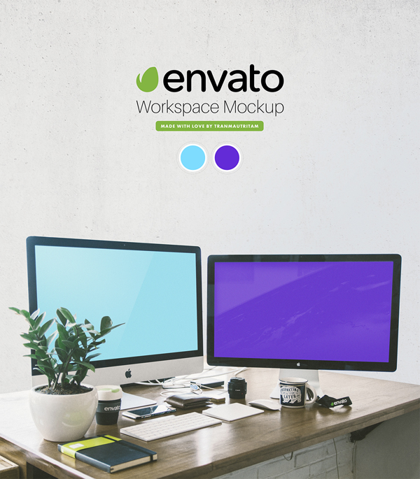 23_Envato Workspace PSD Mockup