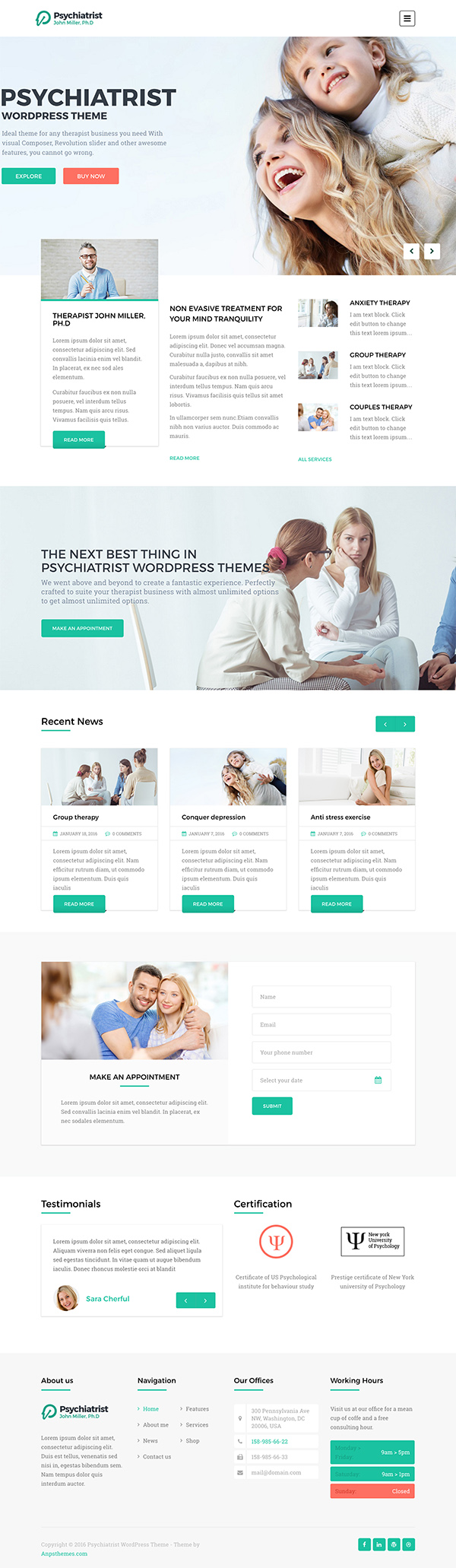 02 GymBreaker Fitness & Gymnasium WordPress Theme