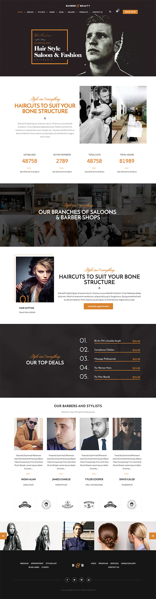 06 HairLoom | Responsive WordPress Theme