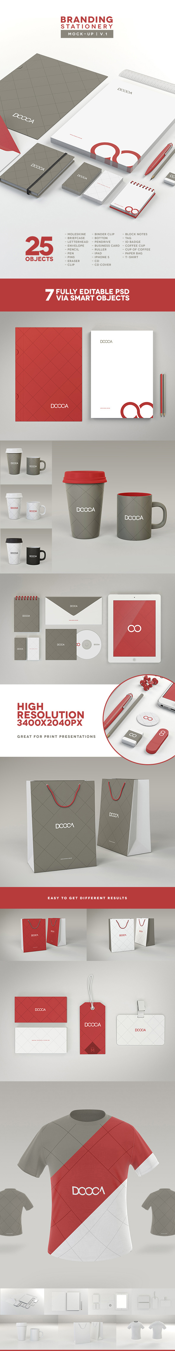 08 Branding : Stationery Mock-up