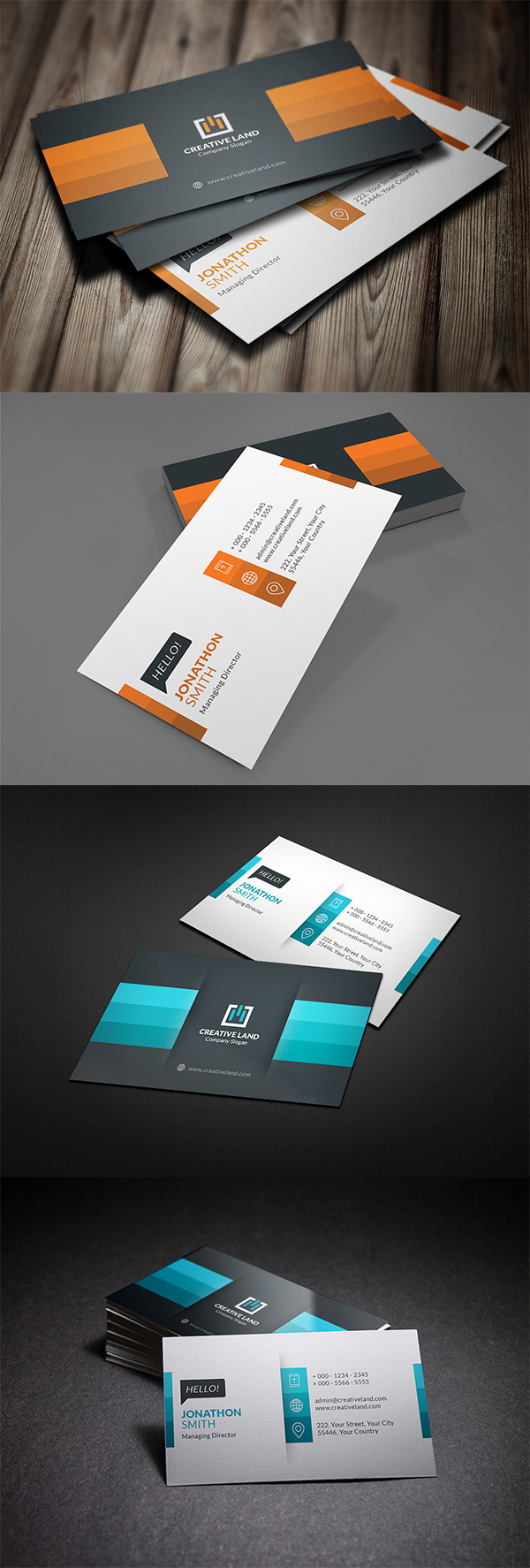 10 Business Card Design