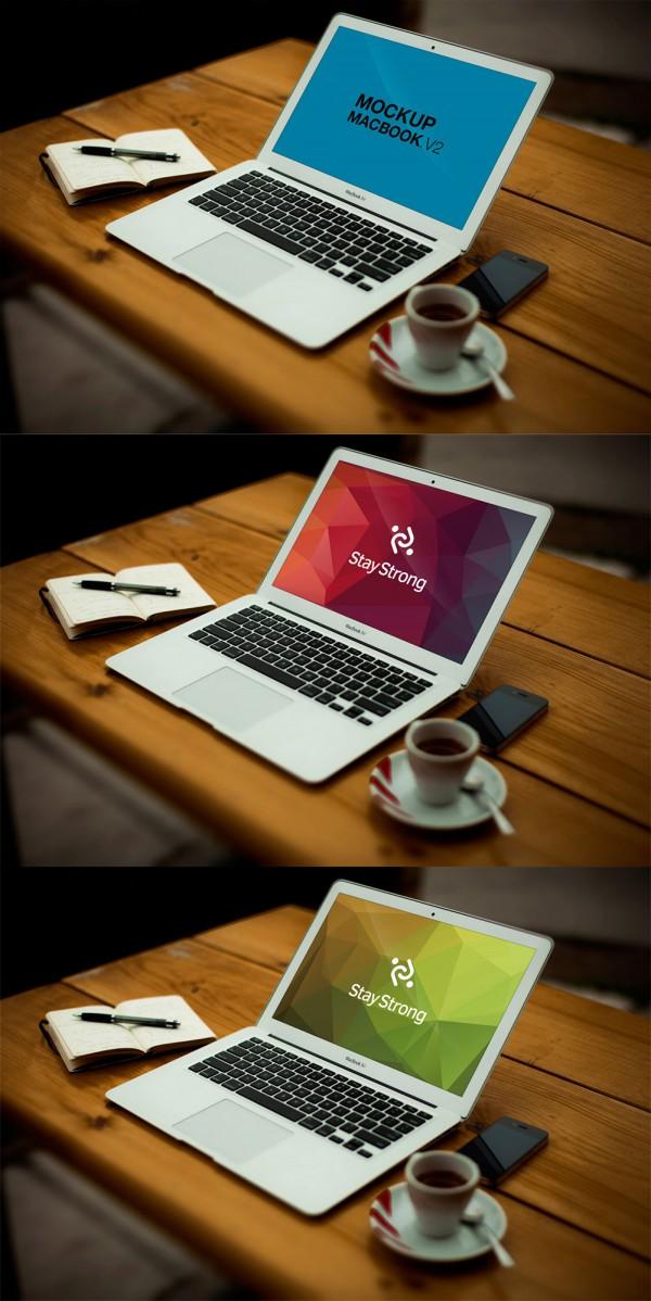 10 Free Mockup MacBook Psd