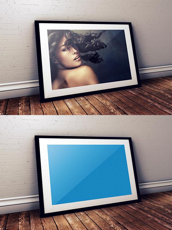 14 Free Studio Frame PSD Mockup
