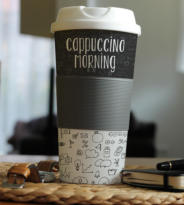 16 Free Cup Mockup