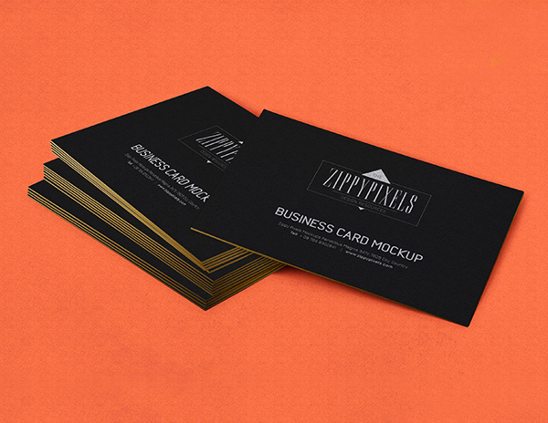 17 Free Business Card PSD Mockup