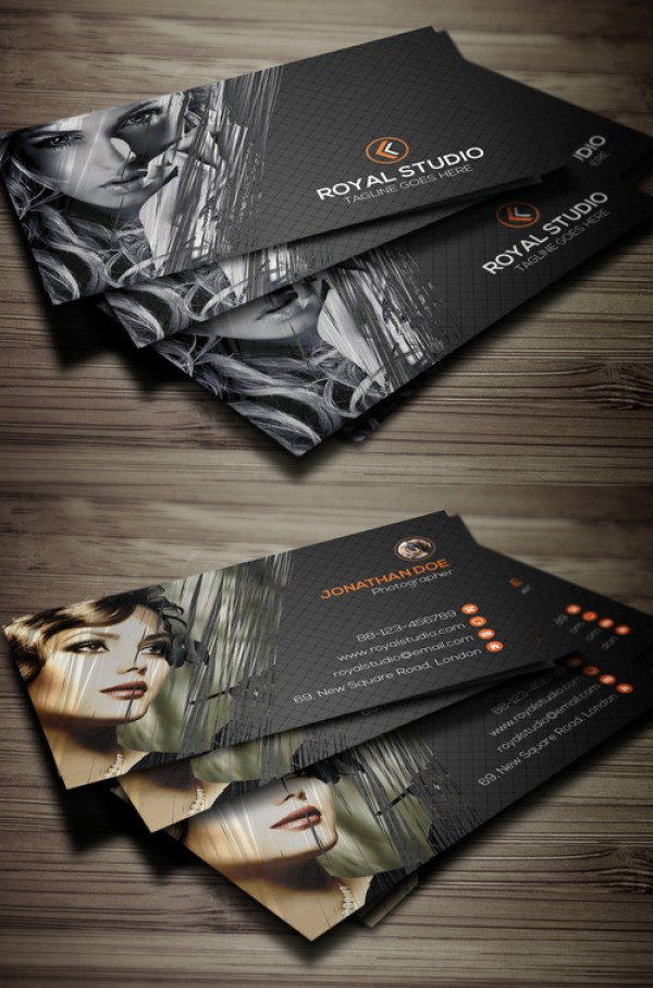 21 Photography Business Card