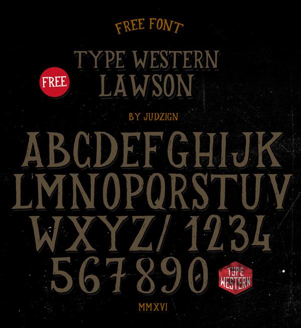 22 Lawson Free Font