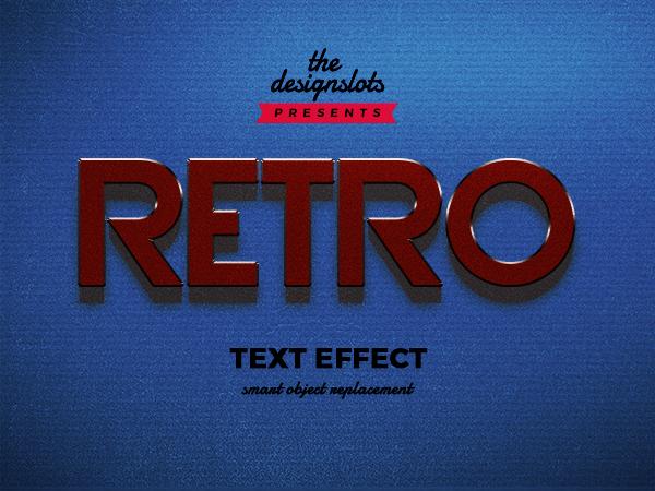 Retro Vintage Text Effect