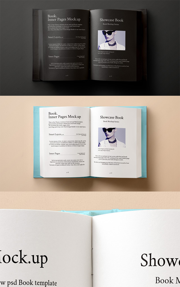 23 new highest quality photoshop free psd book mockups design slots 04 psd hardback book inner mockup pronofoot35fo Choice Image