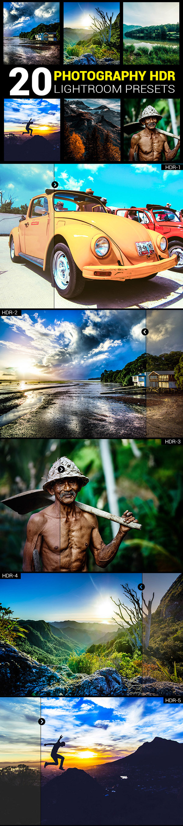 05 20 Photography HDR lightroom presets