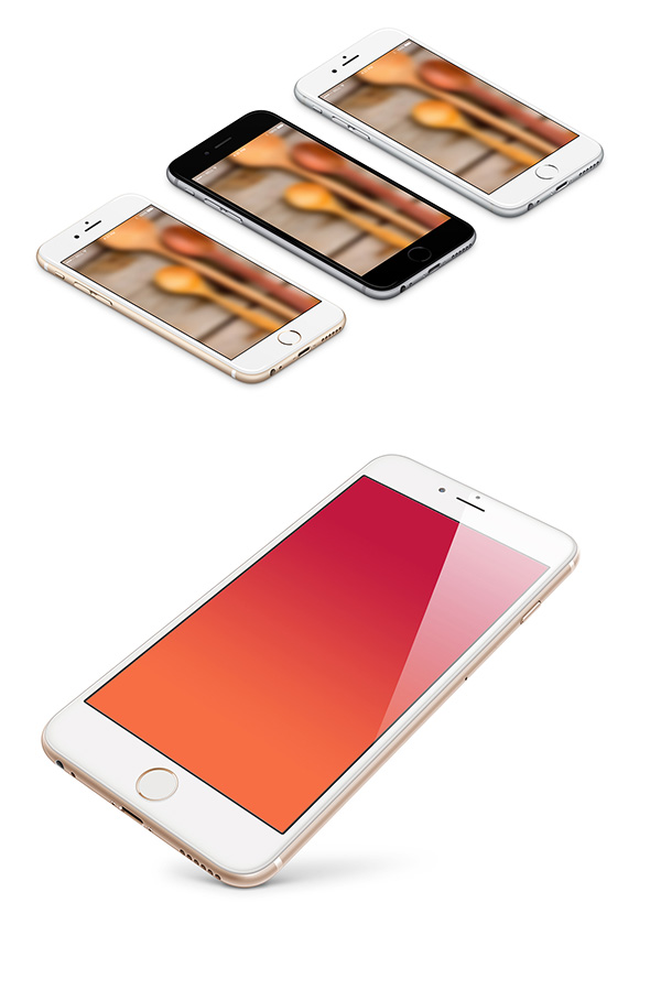06 iPhone Mockup PSD