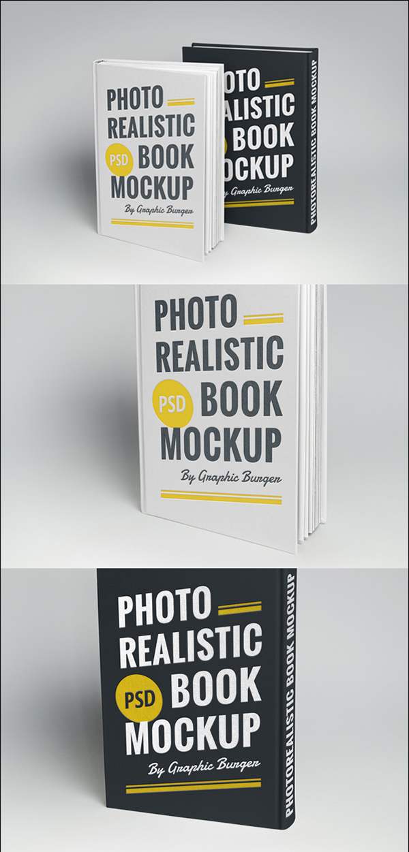08 Hardcover Book MockUp