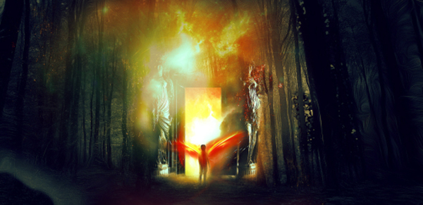 11 Create Portal To Another Realm Photo Manipulation In Photoshop