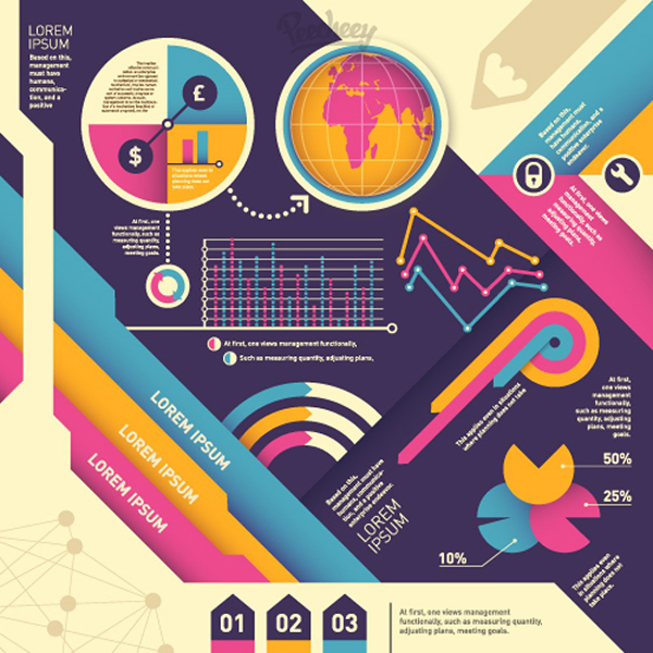16 Colorful infographic set