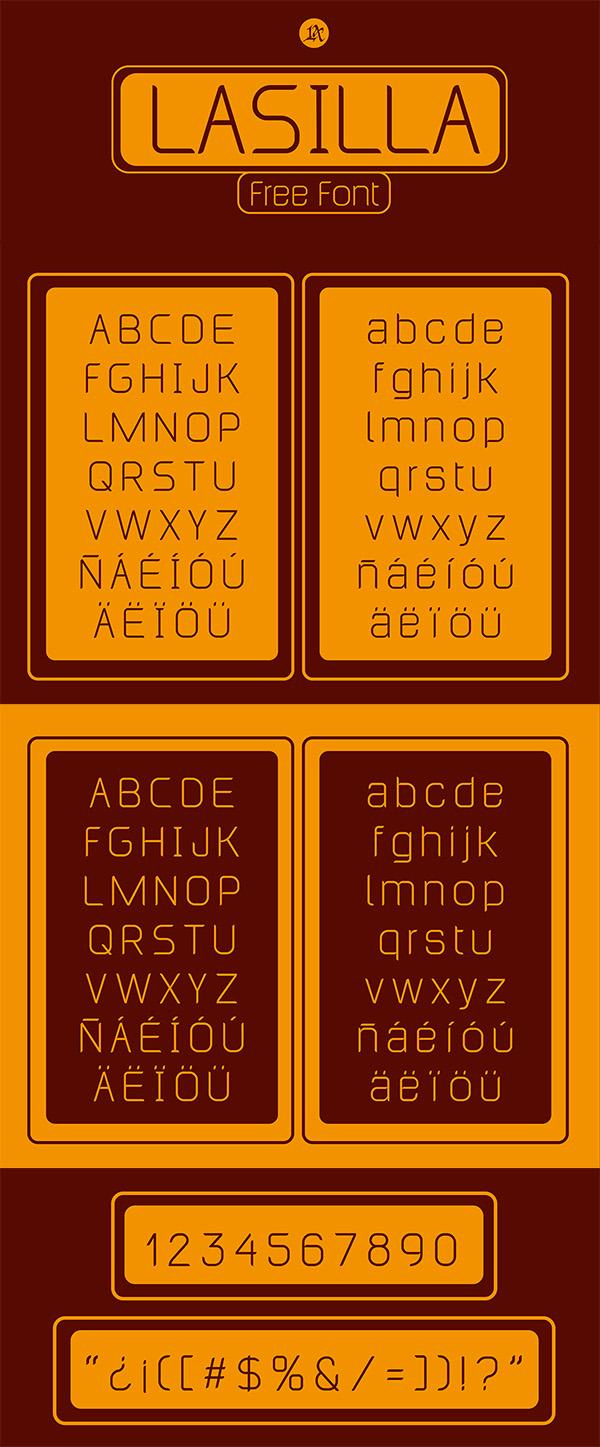19 Lasilla Free Font